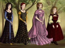 Into the Woods-girls by iridescentwings3911