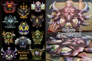 WoW: Wall Crest Preorder Poster/Prototype by StrayaObscura