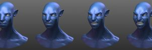 MyAvatar on Pandora expression by aaronfang-art
