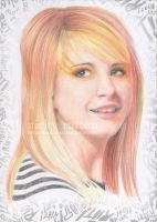 Paramore Hayley in Colour by ChazyChaz