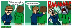 EWCOMICS88 - Confrontation by eddsworld