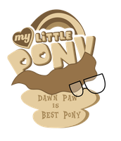 Commission: Dawn Paw is best pony! by Topas-Art