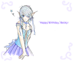 Happy Birthday Becky by houseki-chan