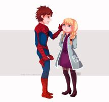 Hiccstrid:Spider-Man by Kiome-Yasha