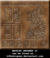 Mayan Brushes I by achrintist