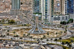 bahrain Pearl square by hussainy