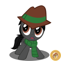 Lonewolf Equestria's Youngest Detective by Shadowpredator100
