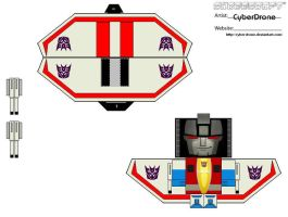 Transformers -Starscream Wings by CyberDrone