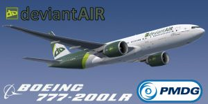 deviantAIR PMDG Boeing 777-200LR Texture Files by HYPPthe