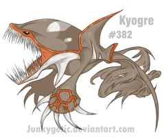 Kyogre by junkygetic