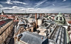 Rooftops HDR by almiller