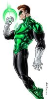 Green Lantern by dichiara
