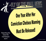 One Year Later, Manning Must Be Released! by IAmTheUnison