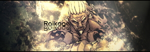 Raikage signature by Aerocross