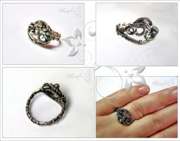 Serafinite ring by amorfia