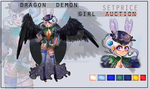DEMON DRAGON GIRL ADOPT (#18) [CLOSED] by miotess-adopts