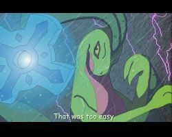 The Grovyle and the Time Gear by LordSameth