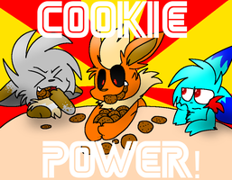 COOKIE POWER! by dustyhyena
