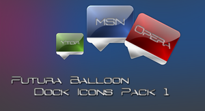 Futura Balloon Icons Pack 1 by Rimmingboy