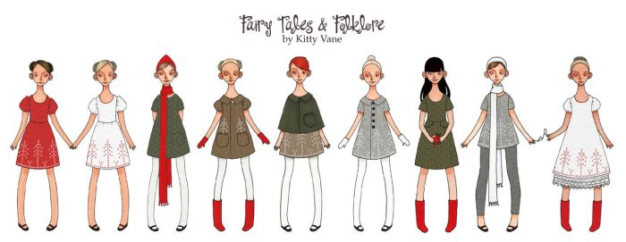Fairy Tales and Folklore by kittyvane