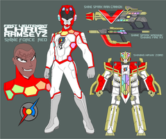 Shine Force Ranger Red by Tyrranux