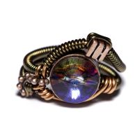 Steampunk Ring Meridian Blue by CatherinetteRings