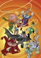The Looney League of Justice by Rabbette
