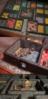 Heroquest gaming-table wip 02 by DamienThevenin