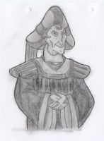 Frollo - *Evil Smirk* (SCA) by yami0815
