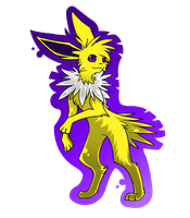 Jolteon by KittyYoungster