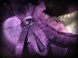 Purple Ribbons by Vampiric-Time-Lord