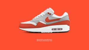 Nike Air Max 1 OG Red by BBoyKai91