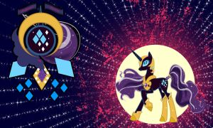 Nightmare Rarity Wall by Evilarticfox