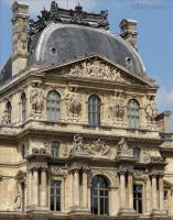 Pavillon Richelieu at the Louvre by EUtouring