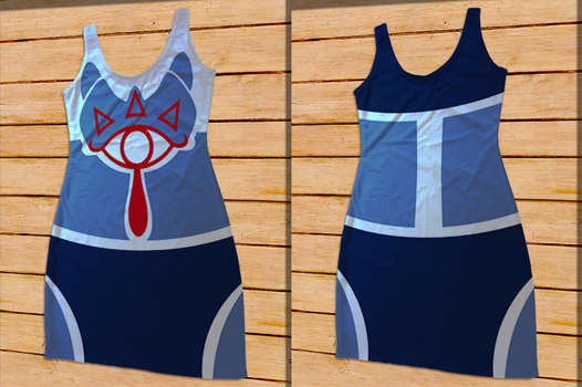 LOZ Sheik Costume Bodycon Dress by Enlightenup23