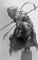 Monkey King sketch by longai