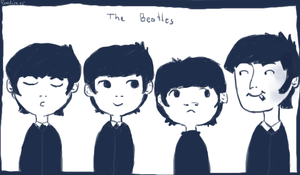 the beatles by pampelmusel