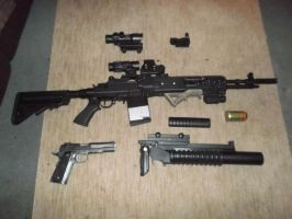 Airsoft Loadout by Marksman104