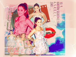 Ariana Grande Layout by givemeasecondgo