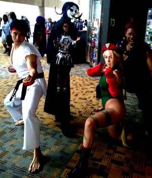 Agitha Tilda And The Street Fighter Crew by AgithaTilda