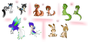 Collab Adopts closed by onelittlefurrycat