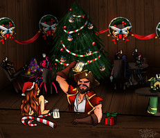 LoL secret santa by PrincessKilvas