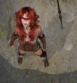 Norina - the warrior by Krissi001