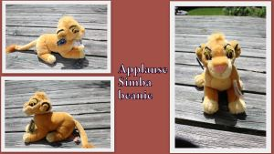 Applause Simba cub beanie by Laurel-Lion