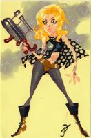 Spacebabe 2 Barbarella by sobad-jee