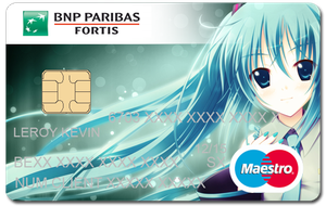 My personnalised Credit Card by Sirhaian