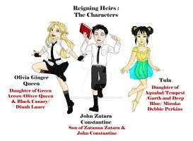 Reigning Heirs Characters by AimiisLoveBeautiful
