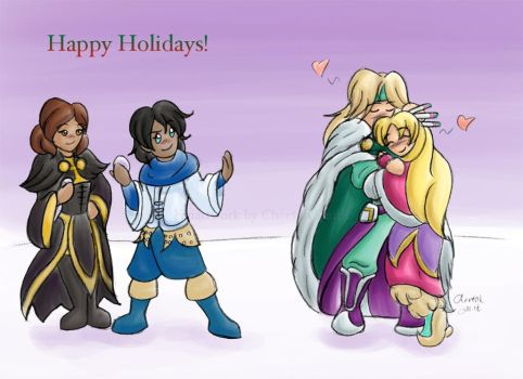 Mix - Holiday 2013 by cheetah-smith