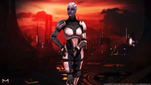 Armoured at Thessia by Majestic-MSFC