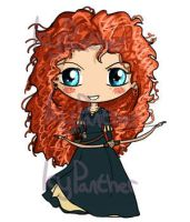 Merida Chibi by IcyPanther1